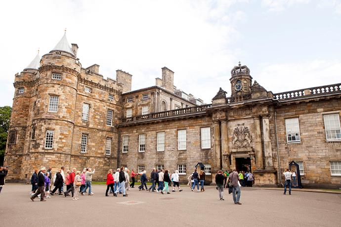 The royal family's official residence in Scotland, Holyroodhouse. *(Image: Getty)*