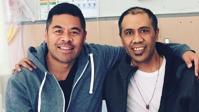 Daniel Faitaua's brother has passed away following his battle with cancer