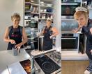 Hilary Barry dons a tiara to show us how to make scones and we love it!