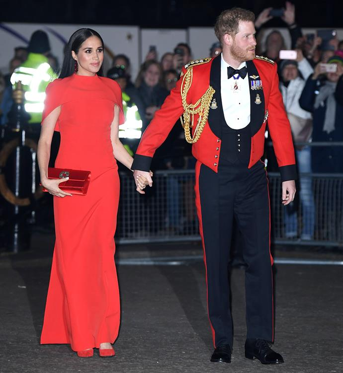 The Sussexes will officially be stepping back as senior members from April 1. *(Image: Getty)*