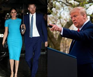 The Sussexes have responded to President Trump's refusal to foot the bill for their security