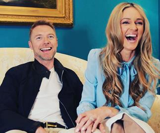 Ronan and Storm Keating have welcomed a baby daughter