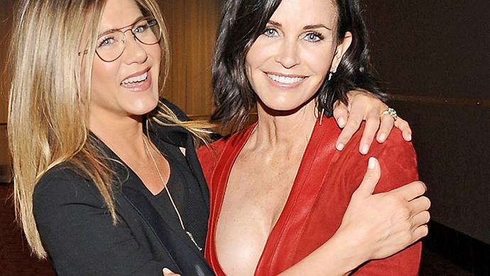 Jen Aniston and Courteney Cox