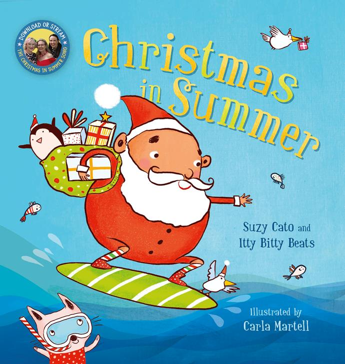 Suzy's new book Christmas in Summer