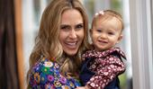 Anna Hutchison opens up about her daughter's adorable milestones and her long-distance marriage