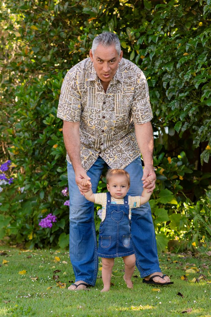 The hands-on dad loves hanging out with Tillie
