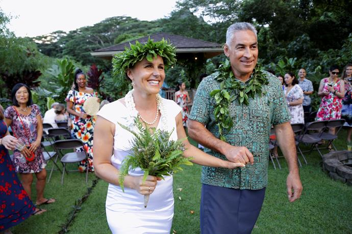 Frank and Jess' wedding in Hawaii