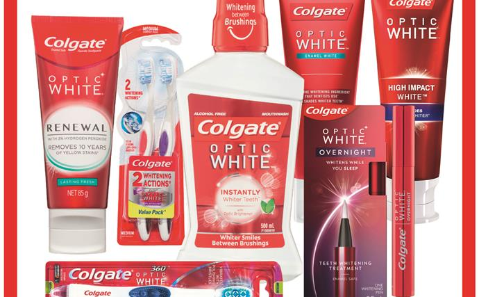 Win the Ultimate Teeth Whitening Prize Pack thanks to Colgate Optic White