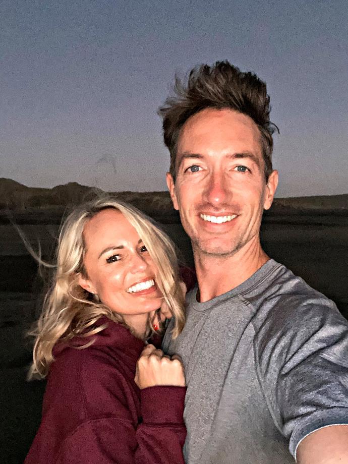 Carolyn and husband Wes.
