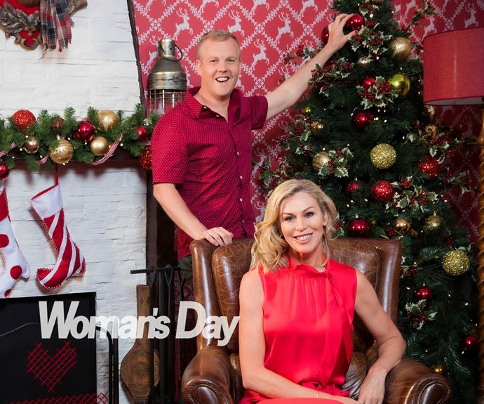 Wendy Petrie and Matty McLean's festive cheer: 'Our hearts are so full'