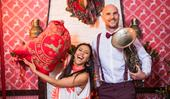 Shortland Street's Ben Barrington and Ngahuia Piripi's Christmas celebrations
