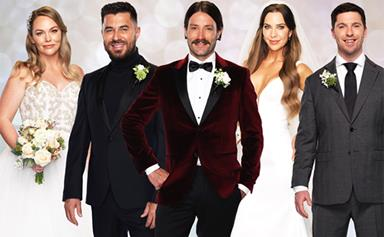 Meet the brides and grooms walking down the aisle in Married At First Sight Australia's 2021 season