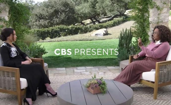 Clips of the tell-all interview could be shared on CBS' official social channels. (Image: CBS)