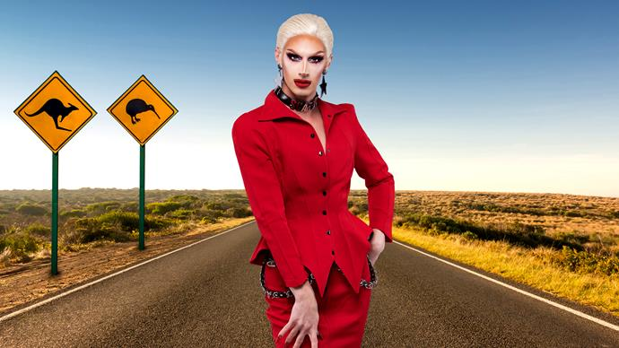 """***[Scarlet Adams, Australia](https://www.instagram.com/scarletadamsdragqueen/ target=""""_blank"""")***  Scarlet is a burlesque performer, pole dancer, costume designer and self- proclaimed """"party girl."""" From the age of 18, Scarlet has worked tirelessly to build her reputation and brand as a drag artist. In 2018 Scarlet became the first drag queen to compete in Miss Burlesque Australia - and then went on to win the title."""
