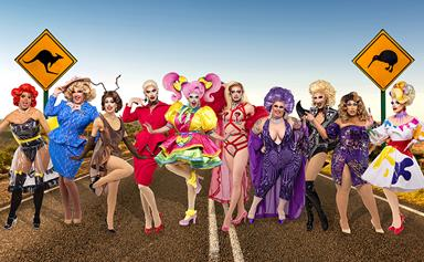 Here are the queens competing in RuPaul's Drag Race Down Under