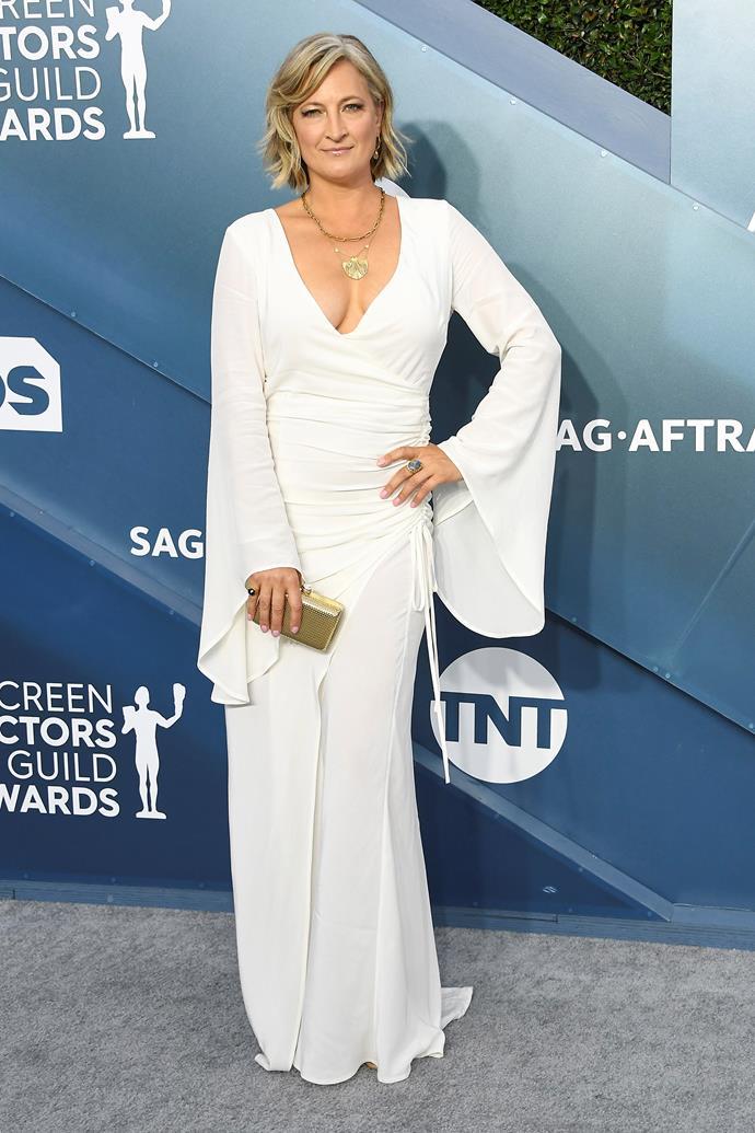 Zoë at the SAG awards