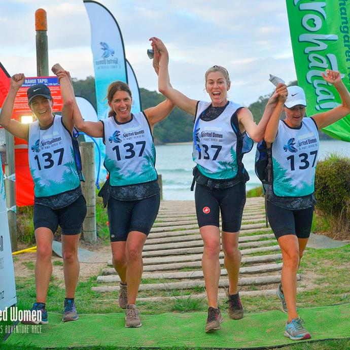 Competing in the Spirited Women event in Taupō