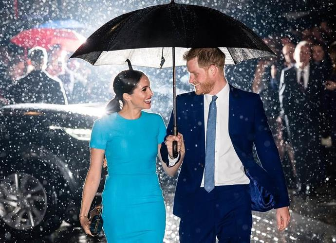 Expectation vs. reality: Meghan has admitted that being married to a real-life Prince is very different from the public's perception of what it would be like. (Image: Getty)