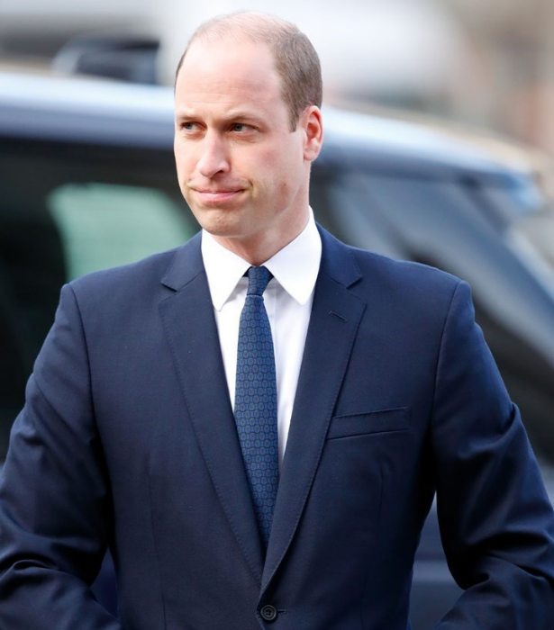 Prince William was the first of the brothers to release an emotional statement. (Getty)