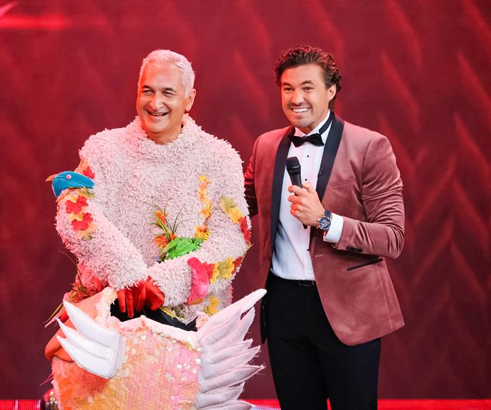 *The Masked Singer NZ* host Clint Randell reveals that Mike was Orange Roughy