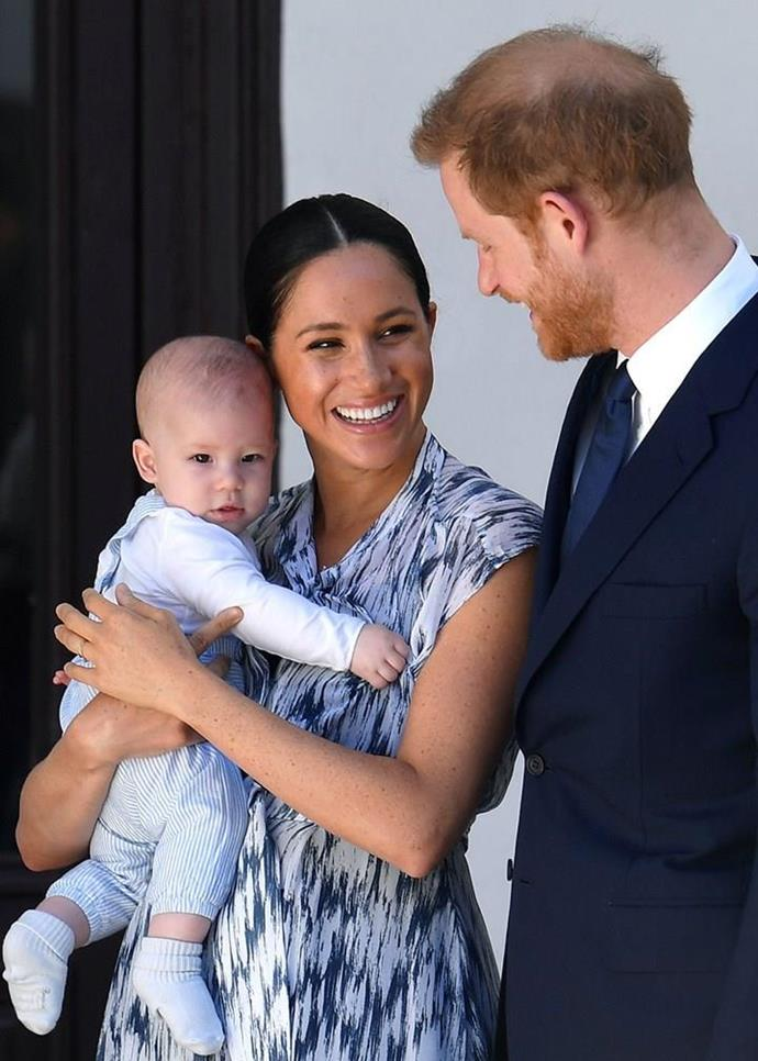Meghan has safely welcomed a second baby girl - a little sister for Archie. (Getty)