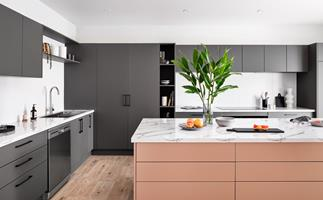 This kitchen colour trend is the sweetest