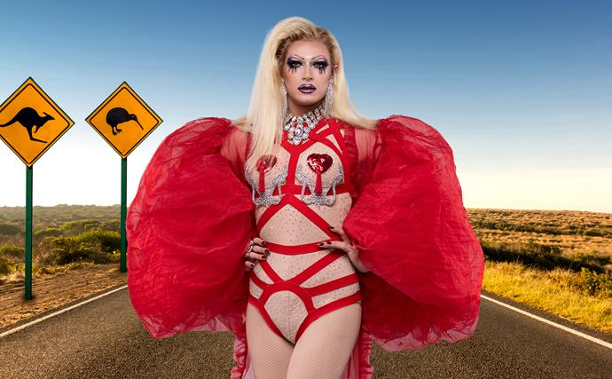 Drag Race Down Under's Elektra Shock: From homeless to healed