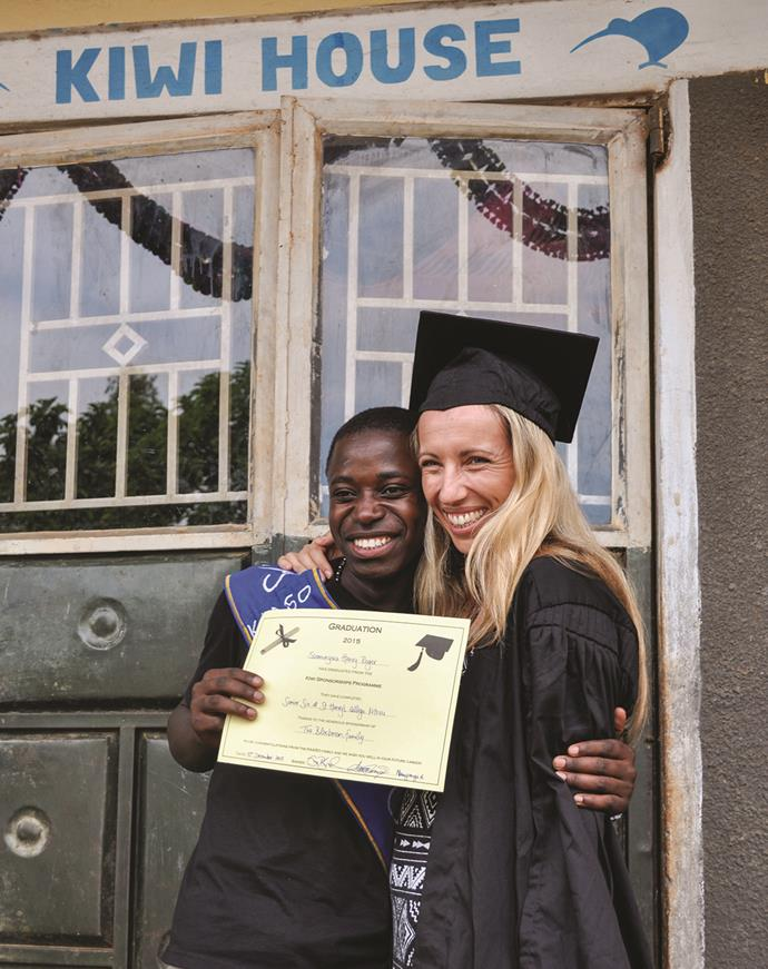 Emma's sponsorship programme  was inspired by top student Henry.