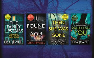 Be in to win one of 50 Lisa Jewell book prize packs