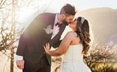 Tall Blacks star Alex Pledger's emotional winter wedding