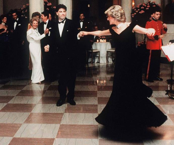 She danced into our lives and hearts! Who could forget when she took to the stage with John Travolta in 1985 at the White House.