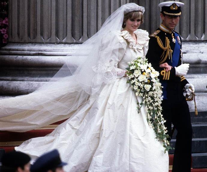 She captured Prince Charles' eye and the pair married in a grand ceremony in 1981.