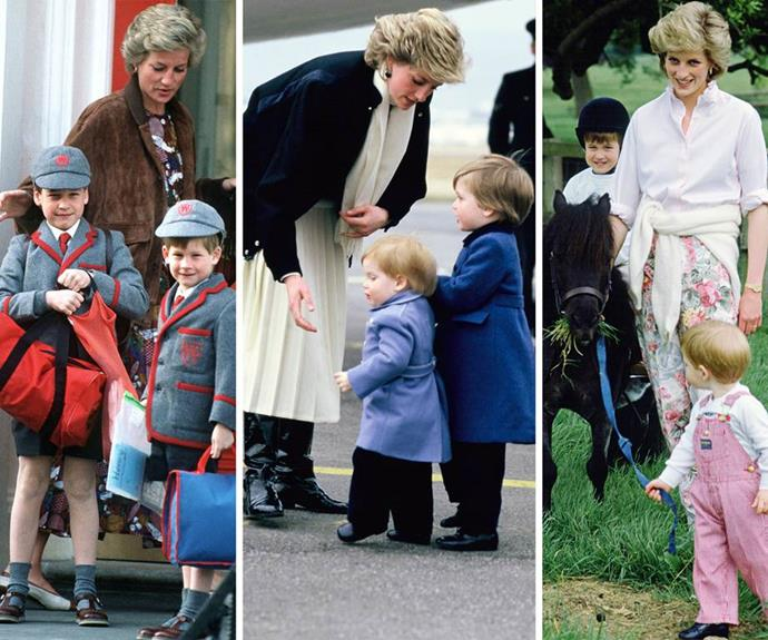 """The royal mum was adamant that for her, """"Family is the most important thing in the world."""""""