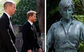 This sweet moment between Prince Harry, Prince William and Princess Diana inspired Diana's 60th birthday statue