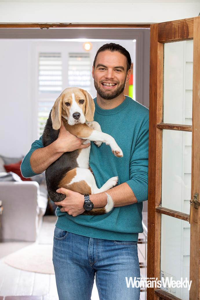 Ryan's new pup Fanny