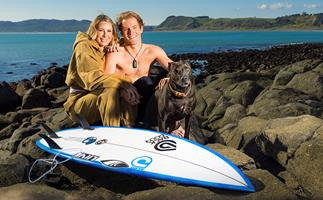 Olympic Surfer Billy Stairmand and the love that inspires him