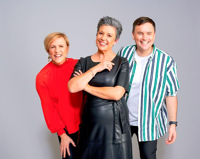 Hilary says get ready to see a different side of her on Give Us a Clue with Paula and Tom