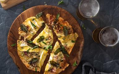 Airfryer Pizza Bianca