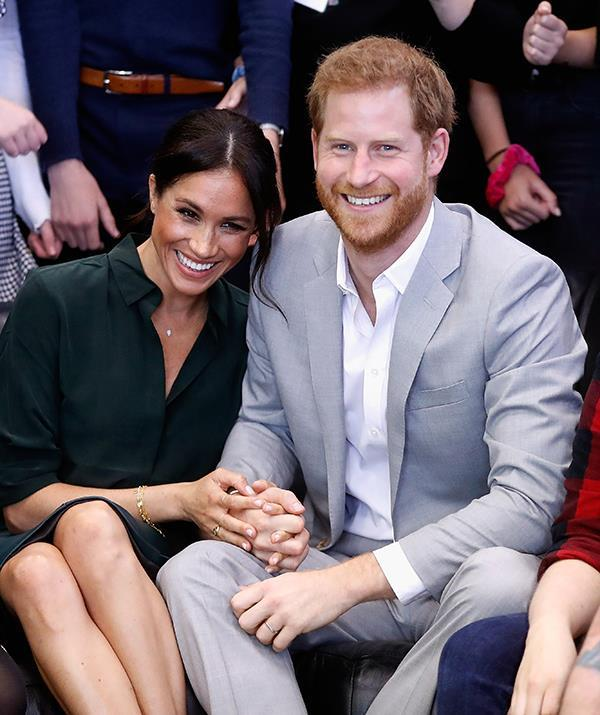 Prince Harry and Meghan, Duchess of Sussex, are about to start a new chapter. (Getty)