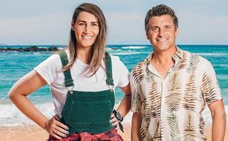 Celebrity Treasure Island hosts Bree Tomasel and Matt Chisholm's special bond