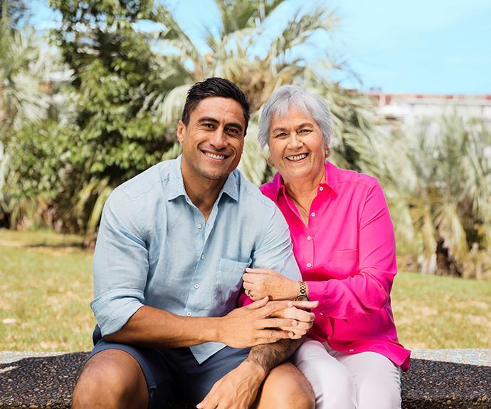 Joe Naufahu's heartbreak: 'I'm doing this for Mum'