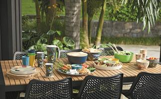 Tips for creating a stylish and comfortable outdoor entertaining space