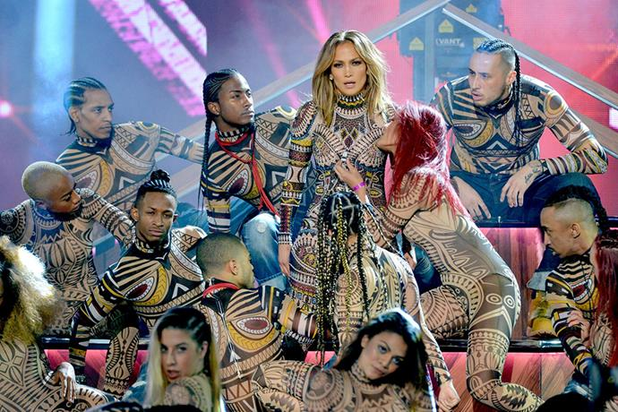 J.Lo loves strong Kiwi men, tells Lance.