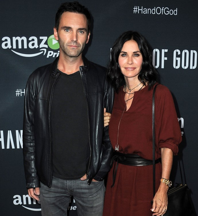 Johnny and Courteney on the red carpet in August this year. Photo: Getty