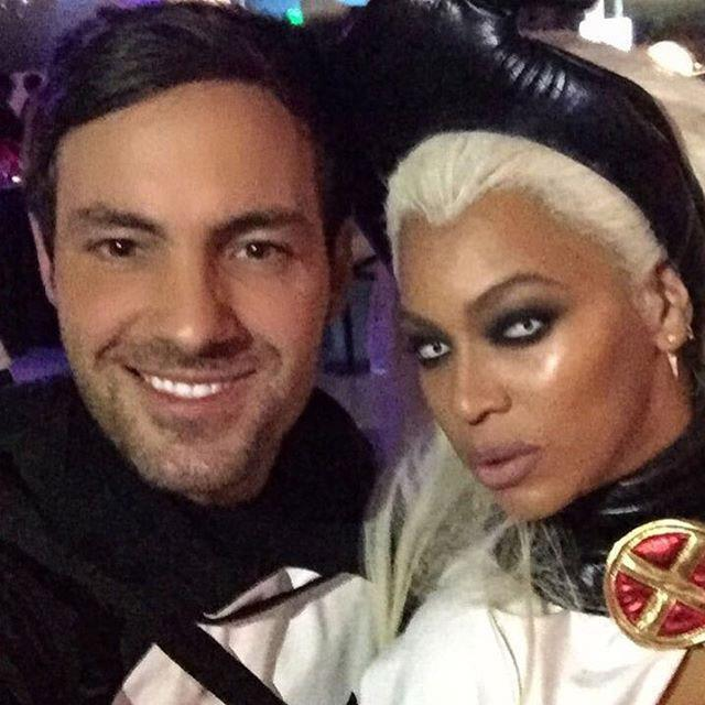 This year, Beyonce dressed up as X-Men character Storm (famously portrayed by Halle Berry in the film franchise) to attend Ciara's spooky 30th birthday party.