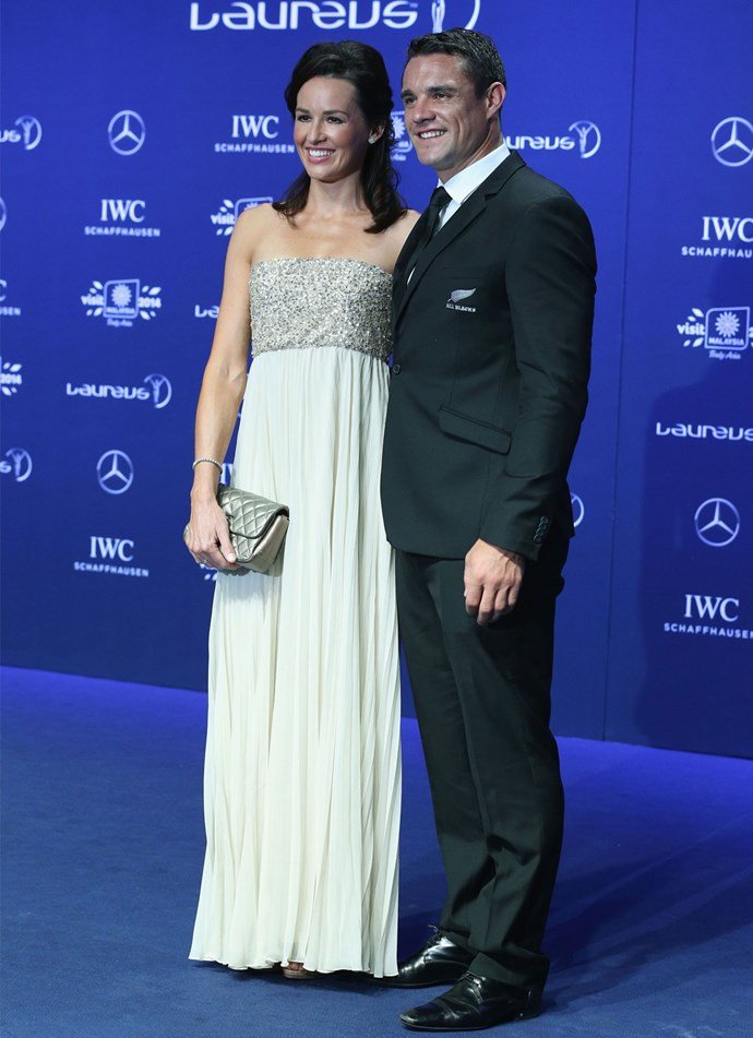 **March 2014**: Dan and Honor attend the Laureus World Sports Awards in Malaysia. Photo: Getty