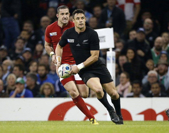 **October 2015:** Dan in action against France. Photo: Getty