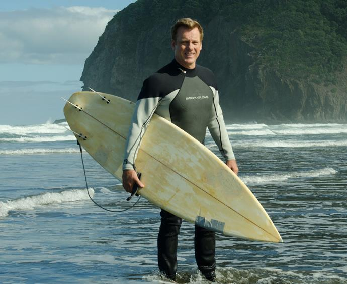 The series was filmed largely in New Zealand, giving Erik plenty of opportunity to make the most of the beaches as his character learns to surf.