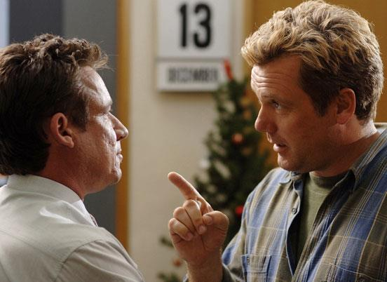 In 2007, the actor starred as a man taking on the New Zealand tax department in *We're Here To Help*.
