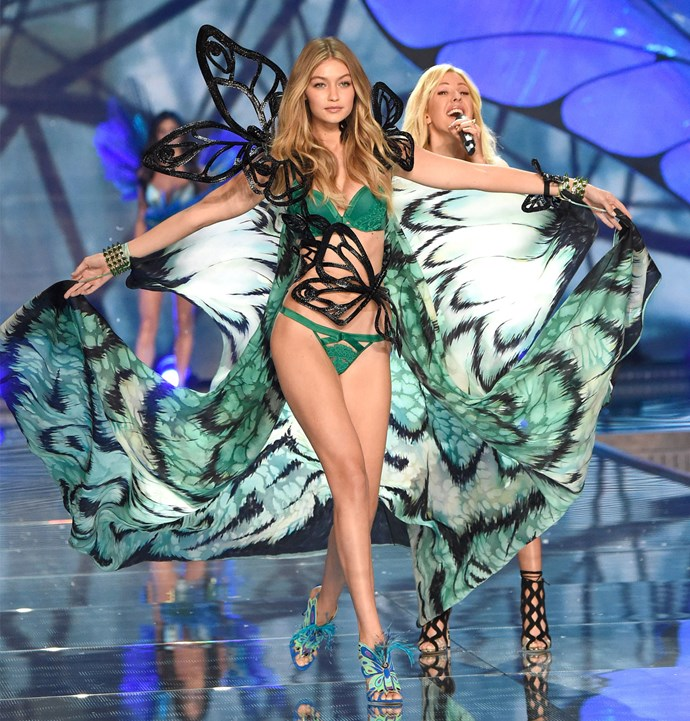 Gigi Hadid and singer Ellie Goulding